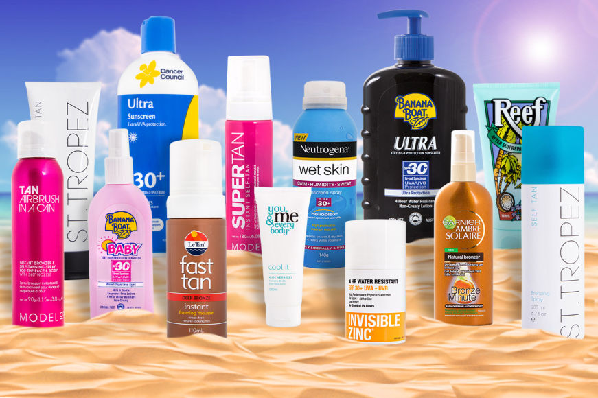 Sunscreen & Tanning Sale