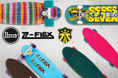 Penny, Z-Flex & Seven Skateboards