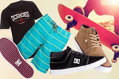 DC Footwear & Clothing