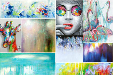 Contemporary Canvas Prints