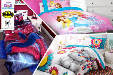 Kids' Single Bed Quilt Covers