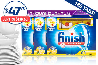 Finish Quantum Powerball 180-Pack