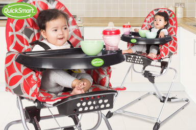 QuickSmart Easy-Fold High Chair
