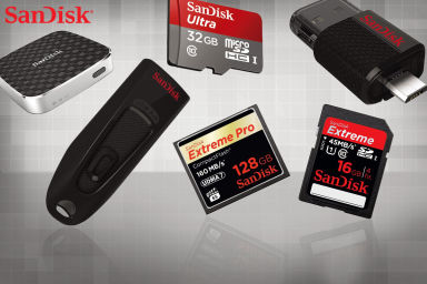 SanDisk Storage Spree