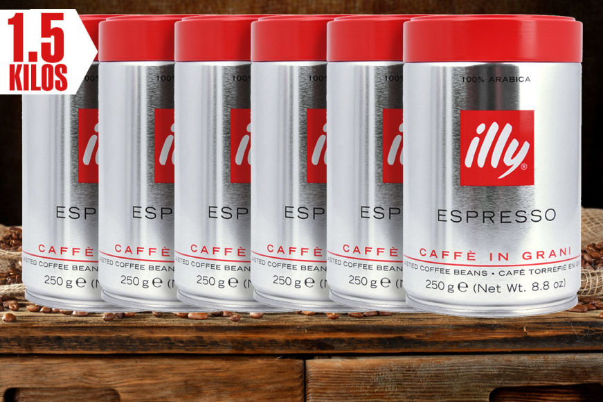 illy Coffee Beans 1.5kg