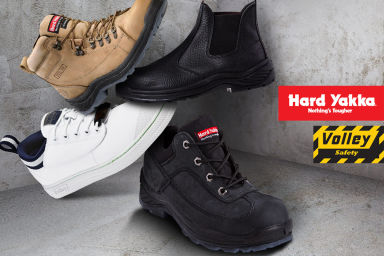 Hard Yakka & Volley Work Footwear