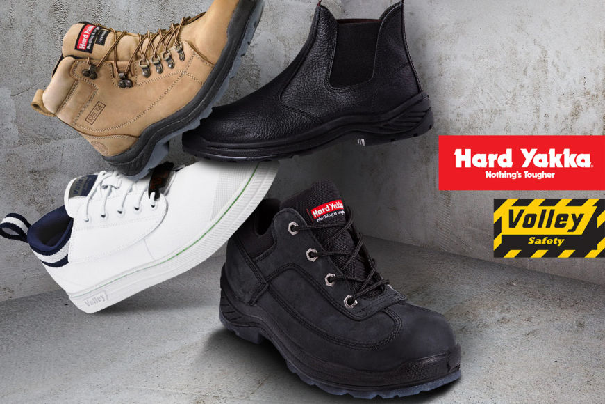 Hard Yakka & Volley Work Footwear