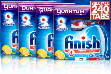 66% Off Finish Quantum Powerball 240-Pack