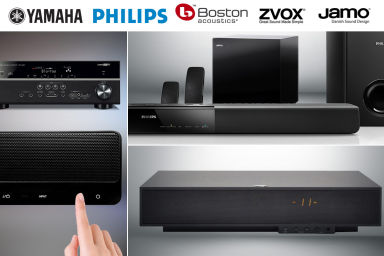 Home Theatre Speakers & Audio