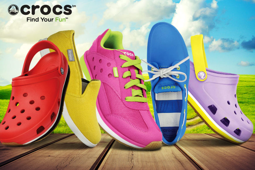 Crocs Footwear For All The Family