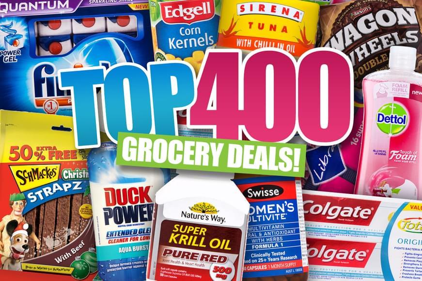 Top 400 Groceries