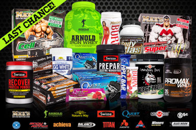 Last Chance Protein Sale