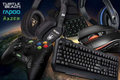 Turtle Beach, Razer & Rapoo Gaming Gear