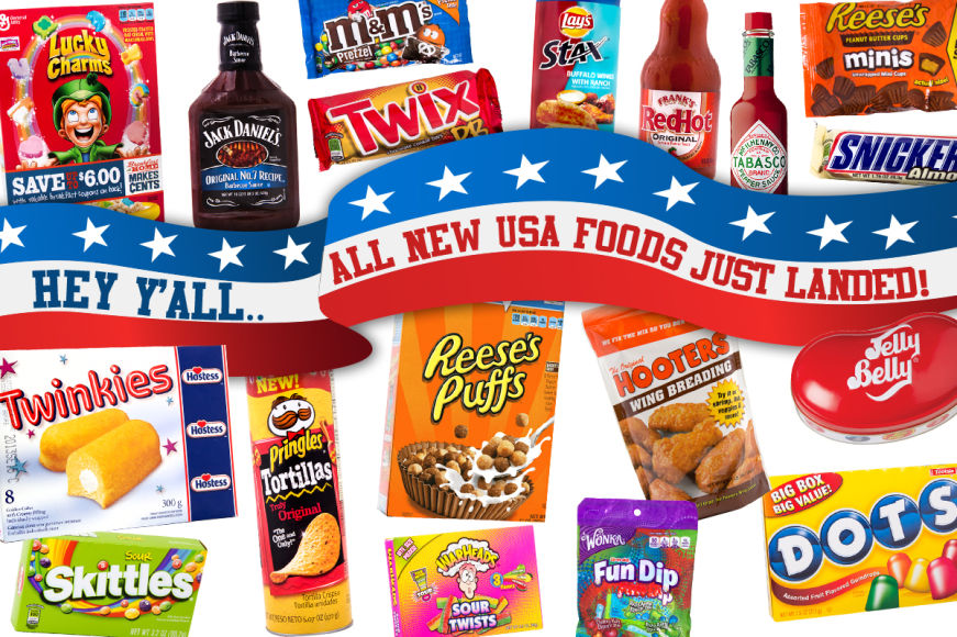 USA Foods - They're Back, Y'all