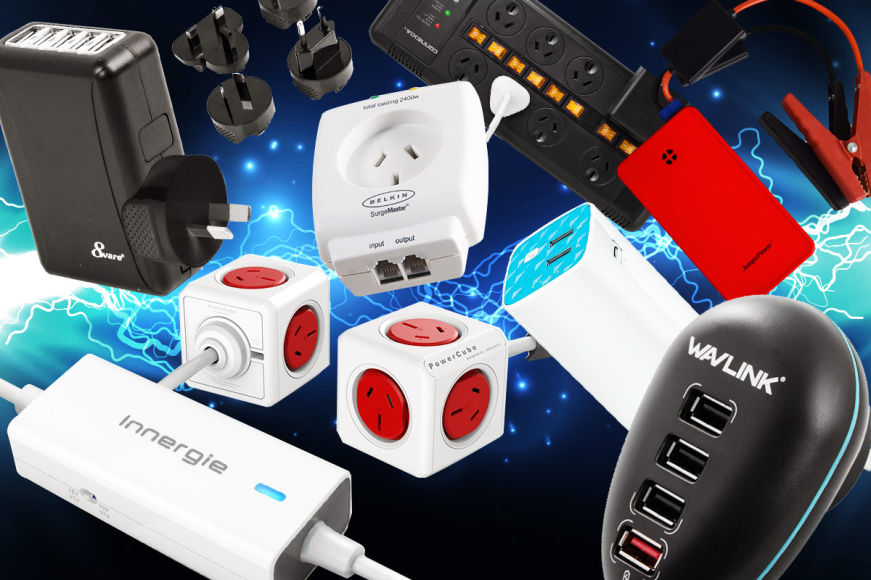 Powerboards, Cables, Chargers & More