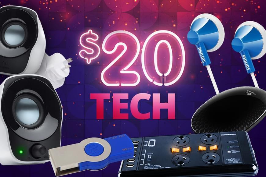 $20 Tech Jumble