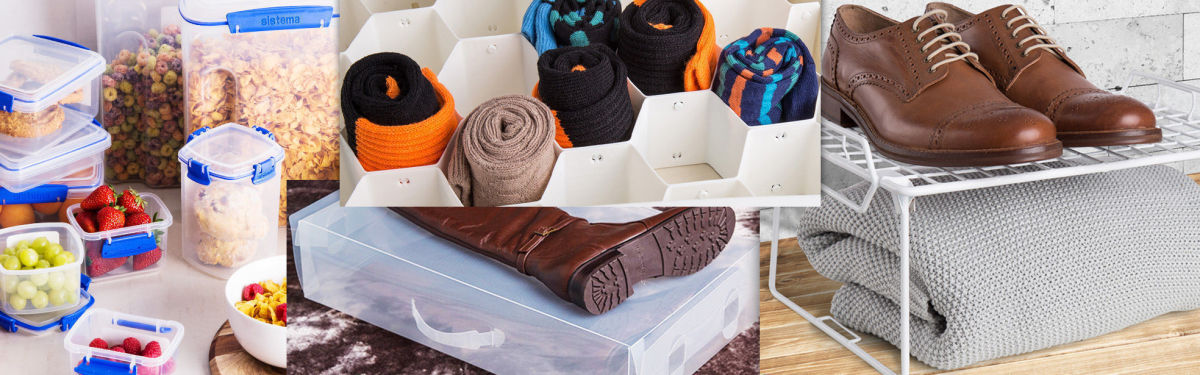 Declutter & Get Organised With Storage