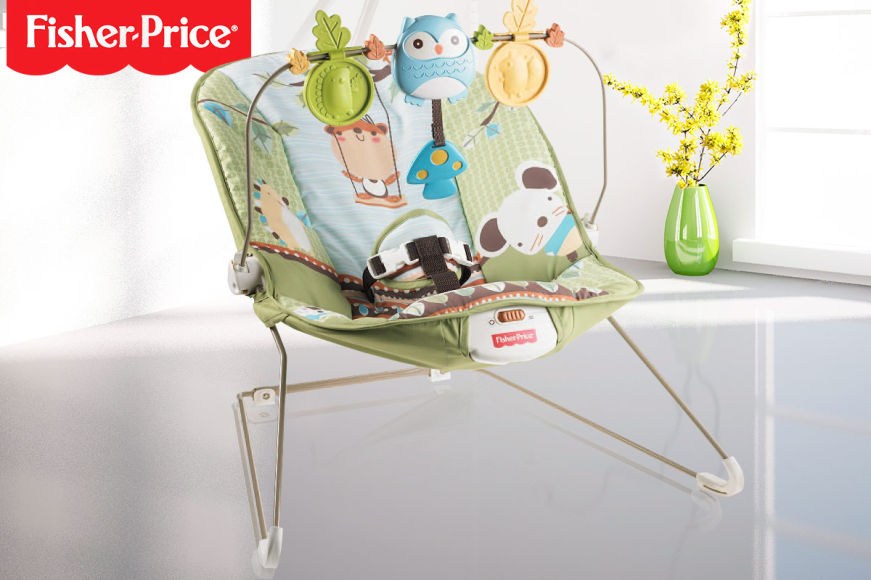 Fisher-Price Comfy Time Bouncer