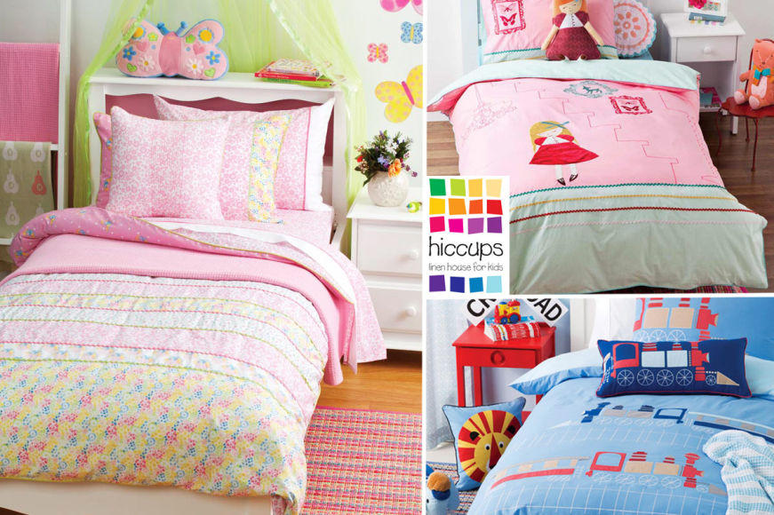 Hiccups By Linen House Kids' Bedding