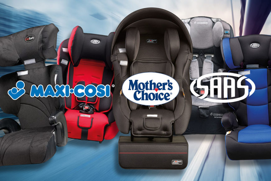 Big Brand Car Seats For Infants & Kids