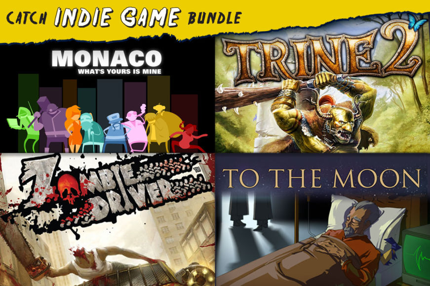 The Catch Indie 4 Game Bundle