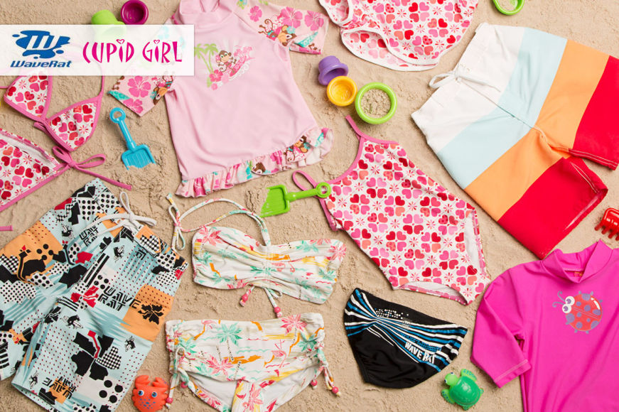 Cupid Girl & Wave Rat Boys' & Girls' Swimwear