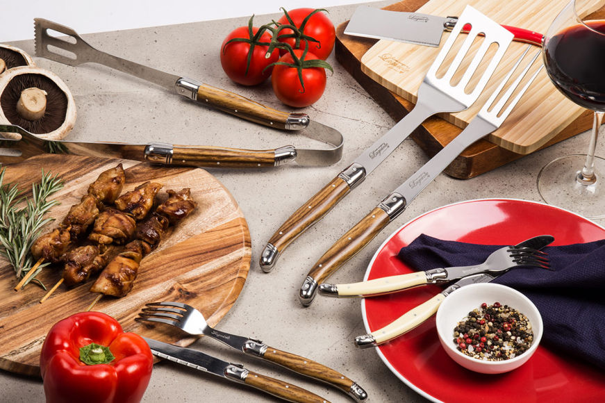 French-Inspired Cutlery & BBQ Sets