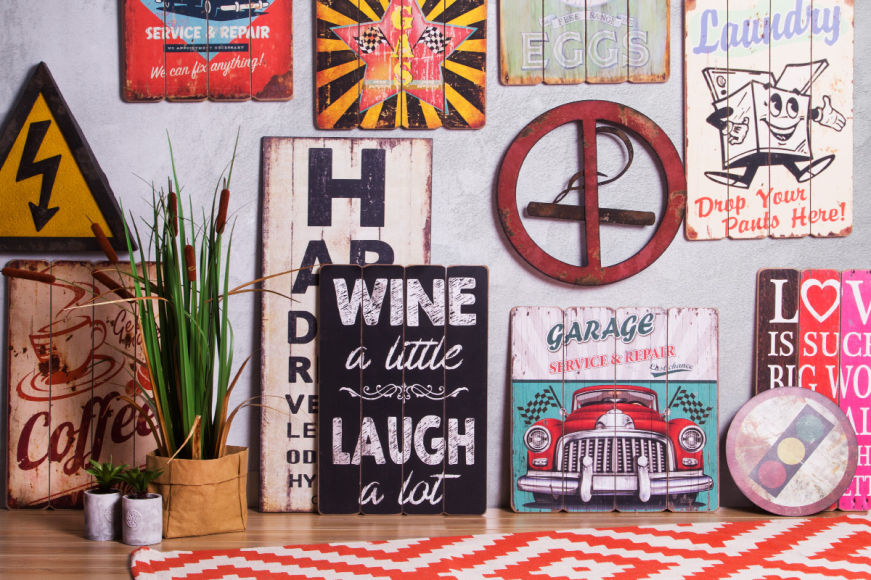 Eclectic Wall Plaques