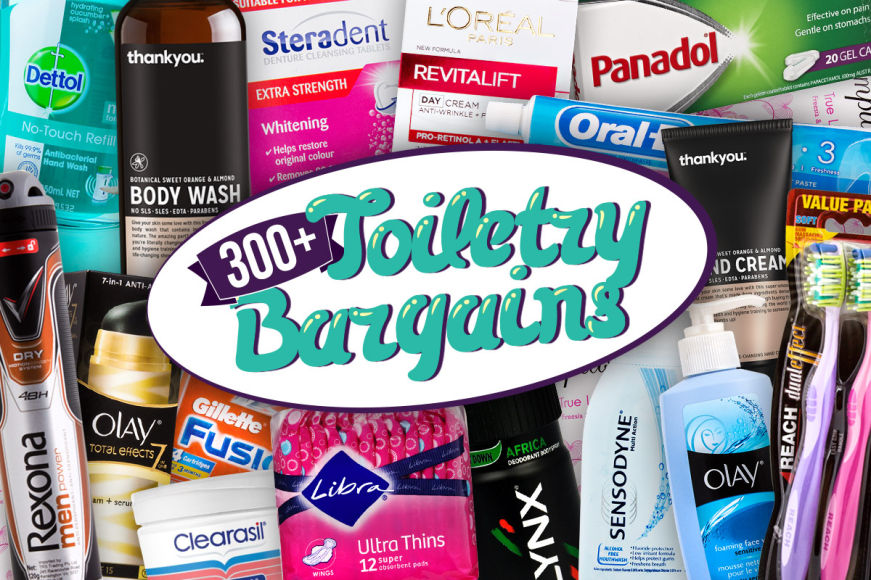 Toiletries - Over 300 Big Bargains