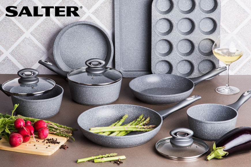 Salter Marble Cookware Sets