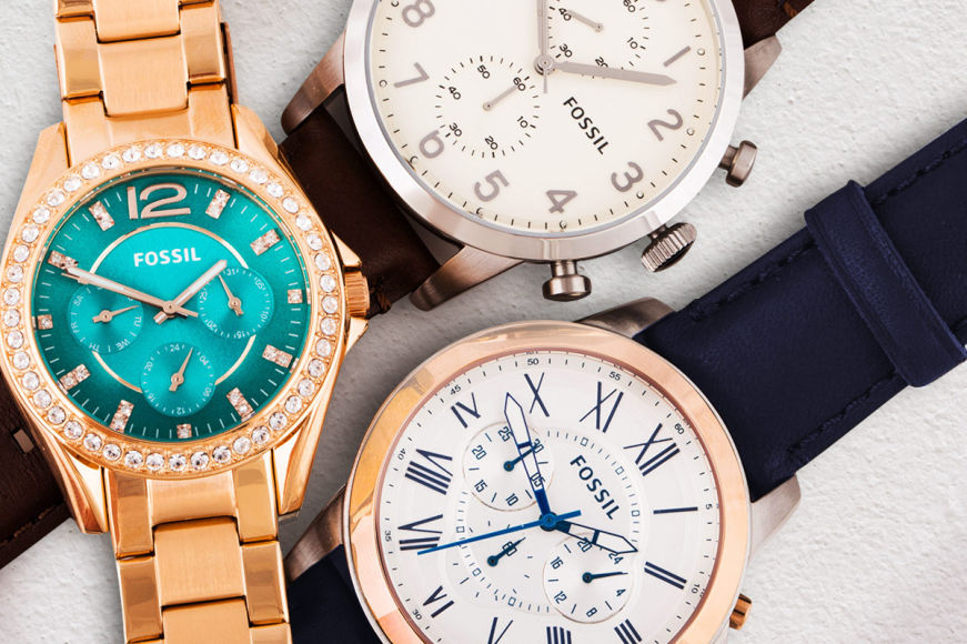 New Fossil Watches