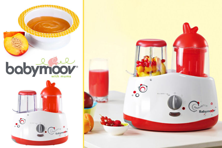 Bebedelice Food Blender & Steamer