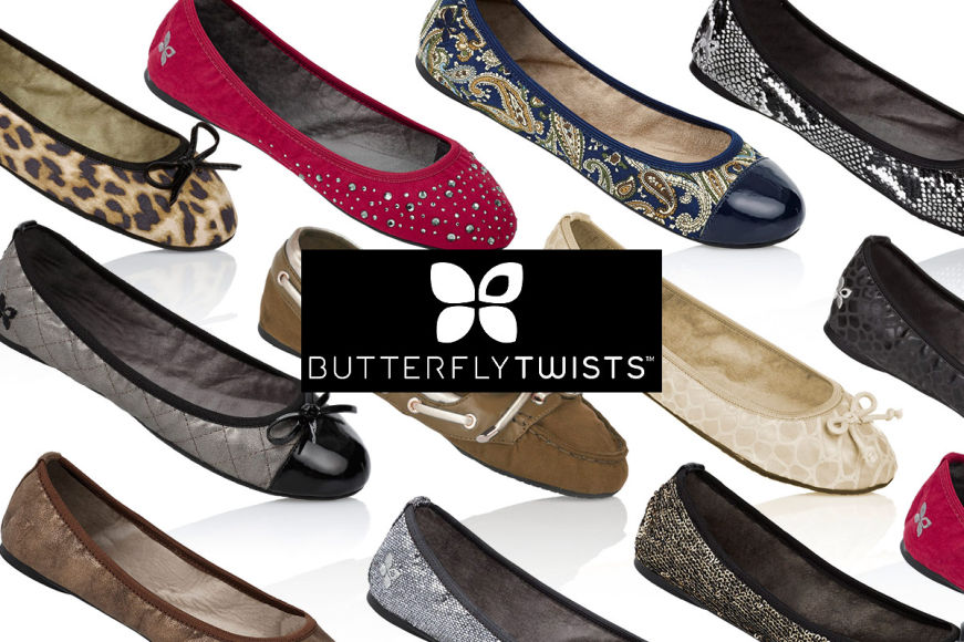 Butterfly Twists Footwear