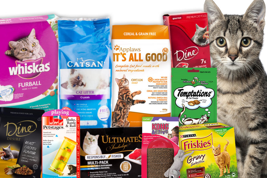 Big Brand Bargains For Your Cat