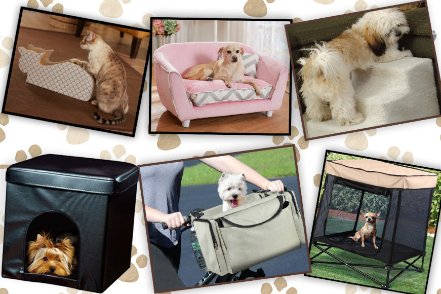Pet Beds, Travel Accessories & More