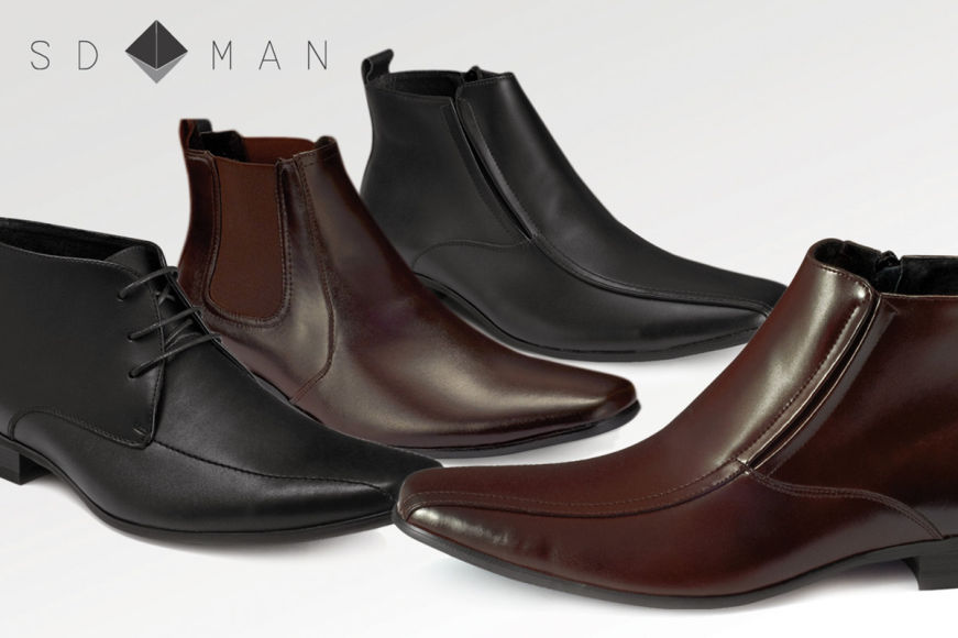 SD Man Leather Boots For Winter