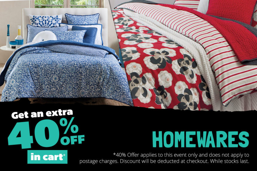 Home: Get An Extra 40% Off In Cart