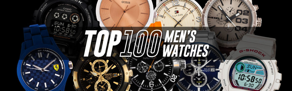 Top 100 Men's Watch Collection