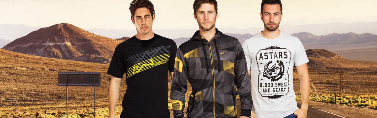 NEW Alpinestars Men's Clothing