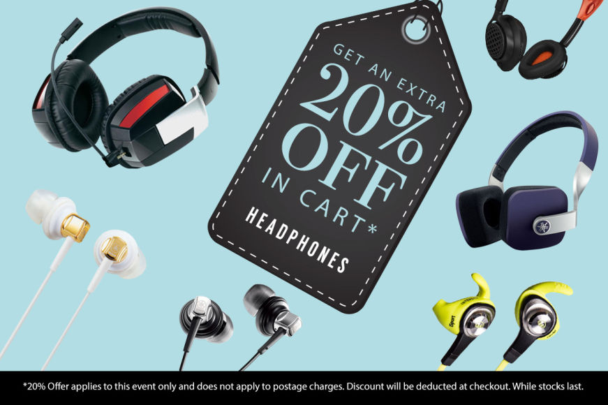 Headphones: Get An Extra 20% Off In Cart