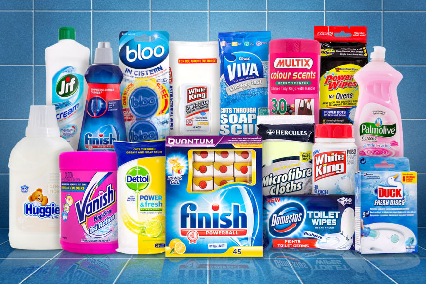 Mega Cleaning & Laundry Sale