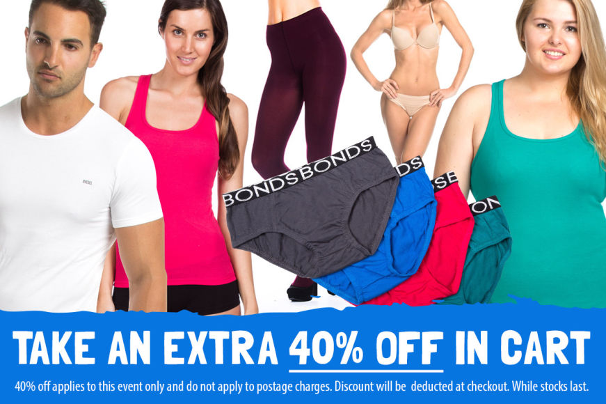Underwear & Basics Clearance: Get 40% Off In Cart