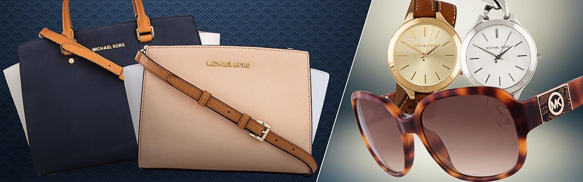 Michael Kors Handbags, Sunglasses & Watches