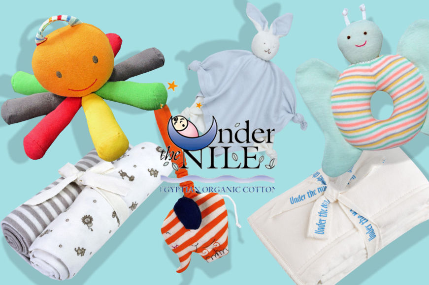 Under The Nile Organic Cotton Nursery Collection