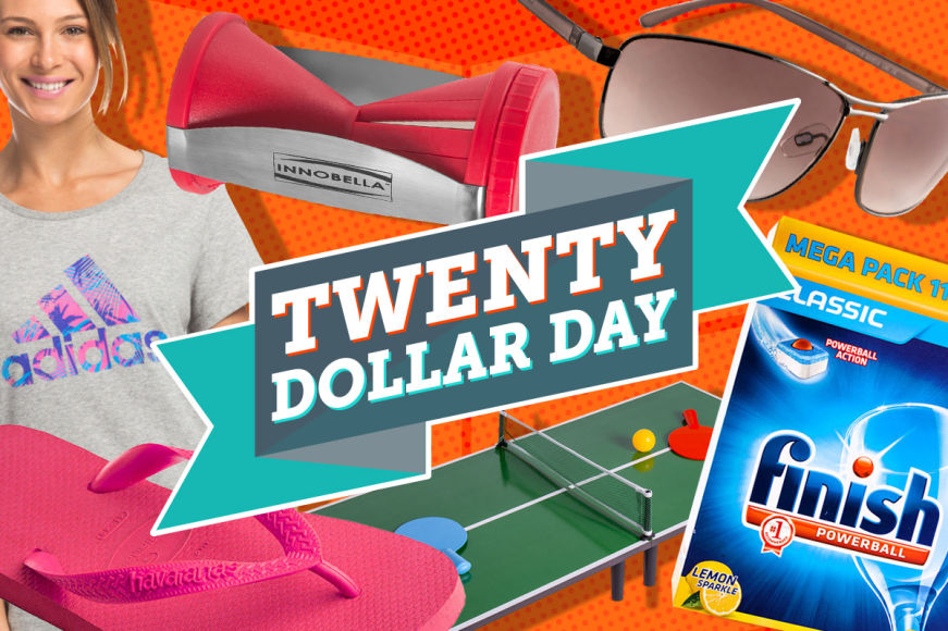 $20 Day: Big Brands All Under 20 Bucks