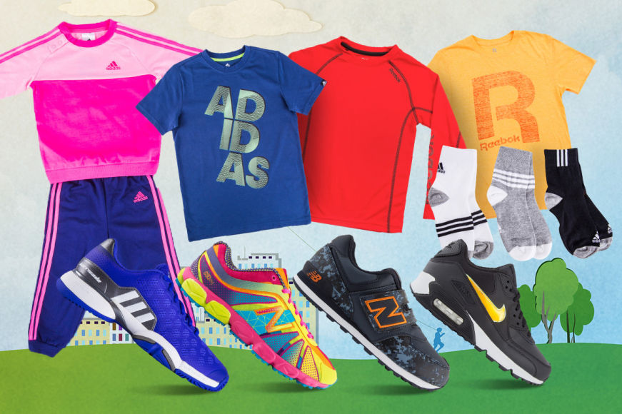 Kids' Sports Footwear & Apparel