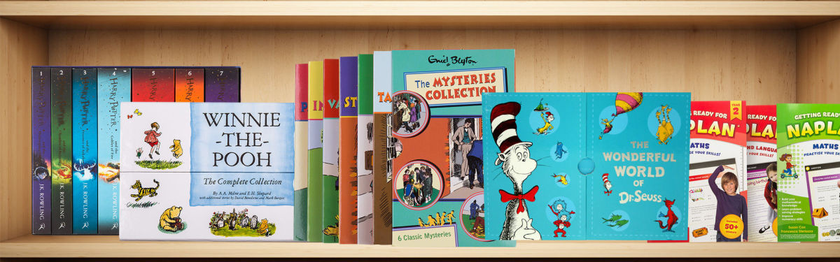 Kids' Book Sets For Little Bookworms