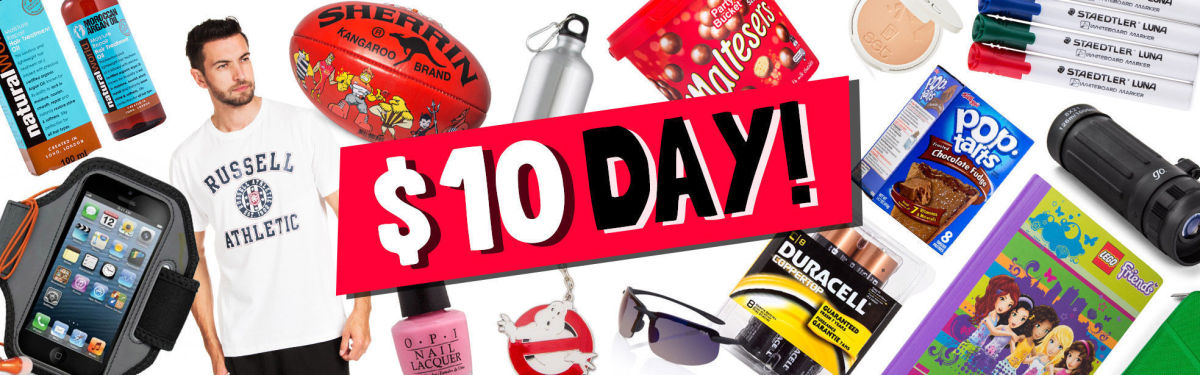 $10 Day - 500+ Items Under A Tenner