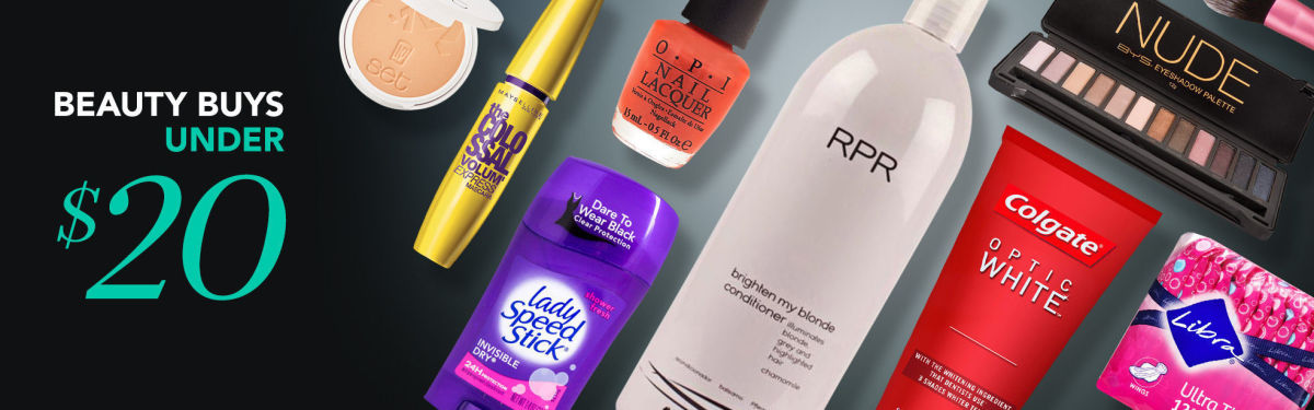 Beauty Buys Under $20