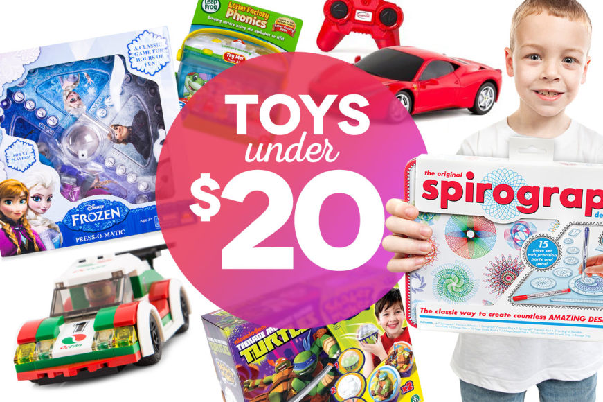 Toy EXPLOSION: All Under $20